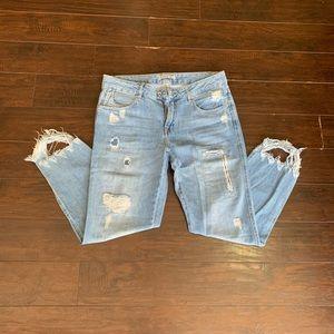 NWOT Zara distressed jeans
